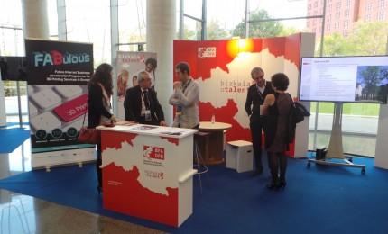Stand de bizkaia:talent en Librecon 2014