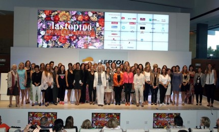 Foto grupo Top 100 Mujeres 2014 low res