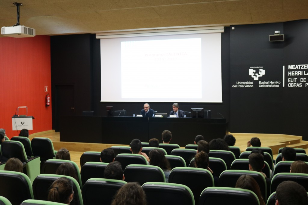 e3b5c82122 Official Introduction of the Talentia Programme at University of the Basque  Country