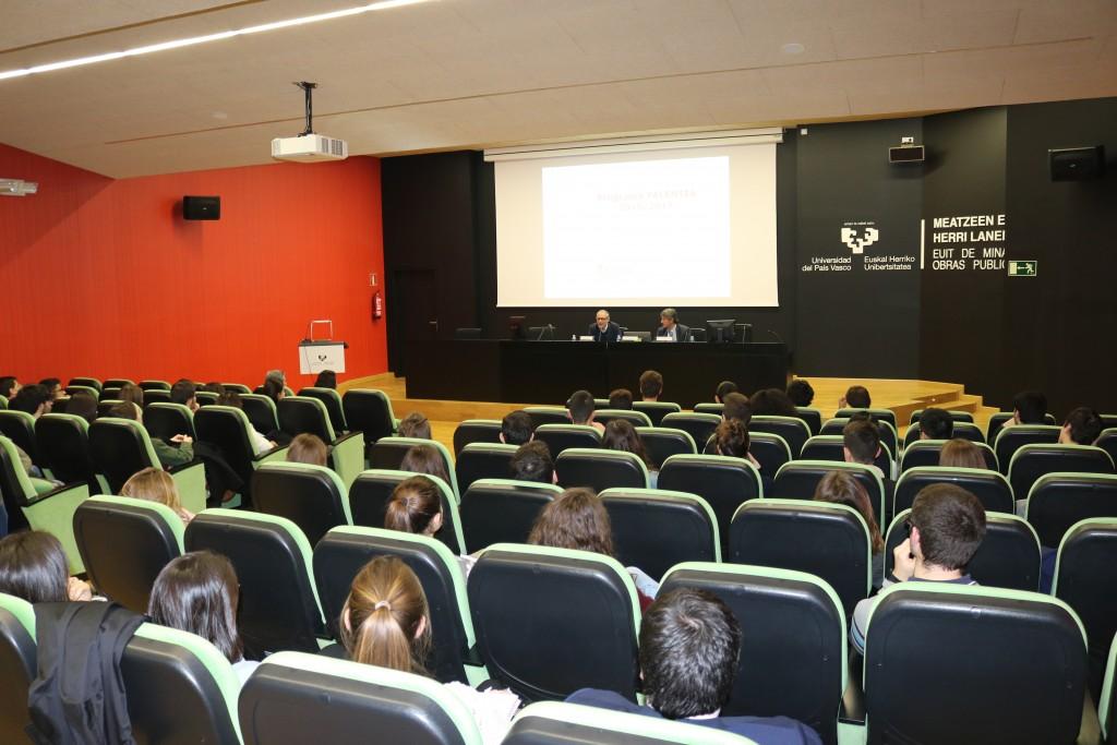5f7be2817b Presentación Oficial del Programa Talentia en la Universidad del País Vasco   EHU