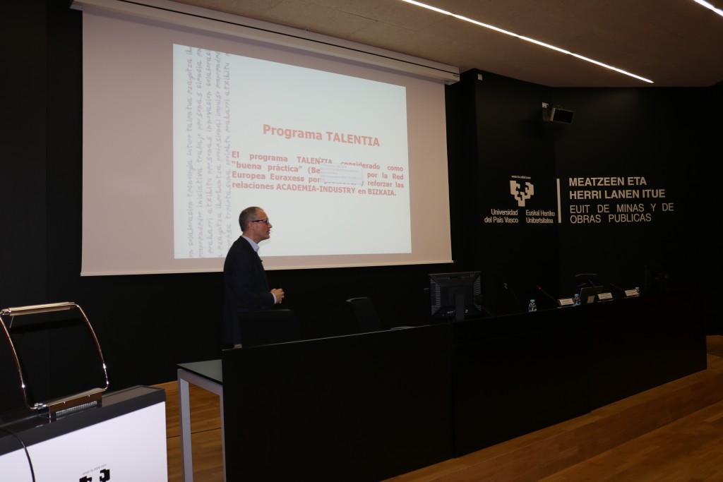 c519259b93 Presentación Oficial del Programa Talentia en la Universidad del País Vasco.  2   21