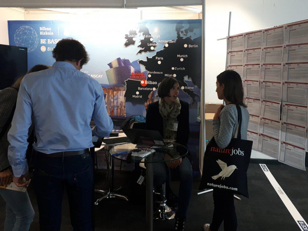 Bizkaia talent presenta 167 ofertas de empleo en la naturejobs career expo de londres - Ofertas trabajo londres ...